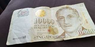 SGD $10,000 note