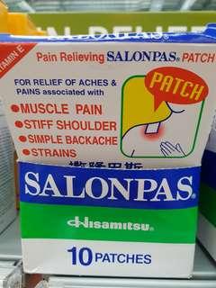 Salonpas plaster