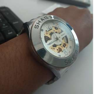 Shaq34 Swatch Matic Transparant AG2014