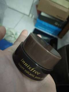 innisfree super volcanic pore clay mask original (sampler)