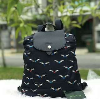 Longchamp Chevaux Ailes Backpack Sale for RAYA 2018