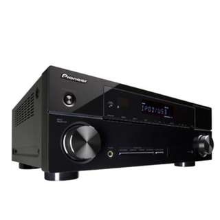 PIONEER VSX-520 AV Receiver Ampifier USED 5.1-Channel 3-D Ready A/V Receiver