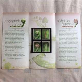 Presentation Pack - Singapore 2014 - Ferns Stamp