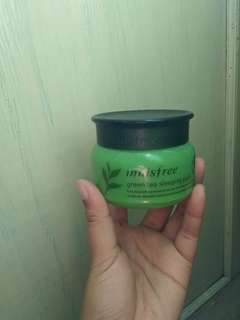 Innisfree green tea sleeping pack