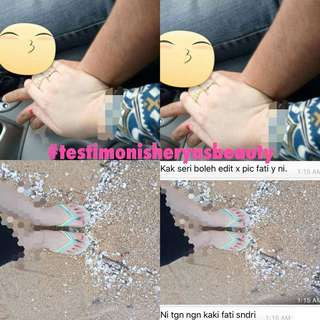 Permanent whitening lotion