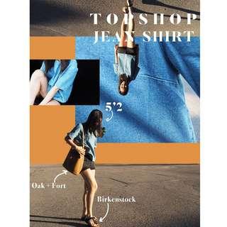 TopShop, Jean Shirt