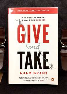 # Highly Recommended《Preloved Paperback + Why Givers Always Win Not Takers》Adam Grant -GIVE AND TAKE : Why Helping Others Drives Our Success