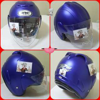 0606** ARC RITZ Matt Blue Helmet For Sale 😁😁Thanks To All My Buyer Support 🐇🐇 Yamaha, Honda, Suzuki