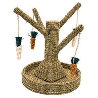 Rosewood Carrot Tree Toy