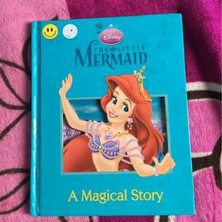 little mermaid book for kids