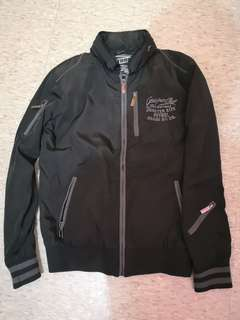 Petrol Motor Jacket with Secret Hood SMALL