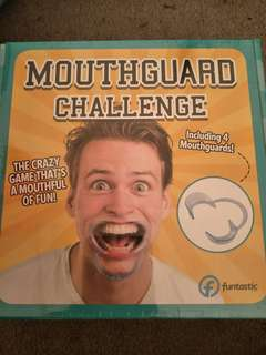 Mouth guard challenge game - brand new