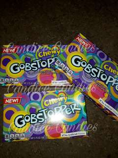 Chewy Gobstopper Candy