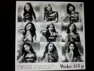 [Preorder] [JAPANESE EDITION] TWICE - WAKE ME UP (ONCE JAPAN LIMITED EDITION) CD