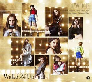 [Preorder] [JAPANESE EDITION] TWICE - WAKE ME UP (1ST EDITION B VER) CD + DVD