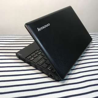 Lenovo Dualcore Netbook 2gb Ram 320gb Hdd Memory 10.1 Inches Size