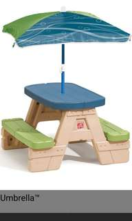 Step 2 sit & play pinic table