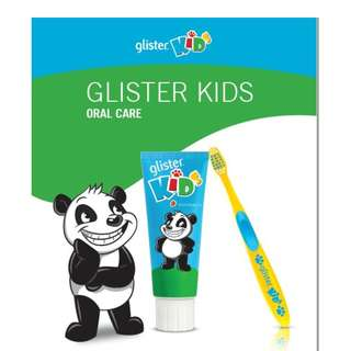 Amway Glister Kids Tootpaste & Toothbrush Set