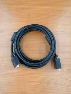 VGA Cable LOW VOLTAGE COMPUTER CABLE E124763-D RL AWM 2919 3M- Used