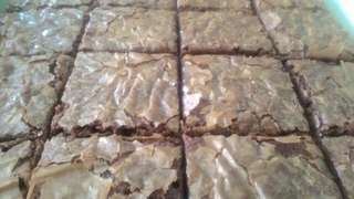 Fudgy Brownies Rm25 per tray