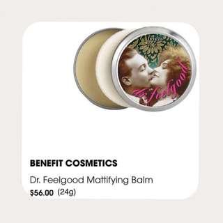 ❗️$38 Off❗️Benefit Cosmetics Dr. Feelgood Mattifying Balm