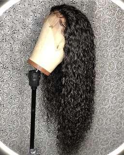 Deep wave wig (custom made)