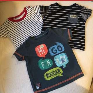 Baju Baby Boy Bundle T Shirt from UK REDUCED