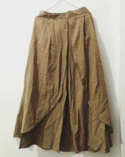 Celana Rok warna Mocca