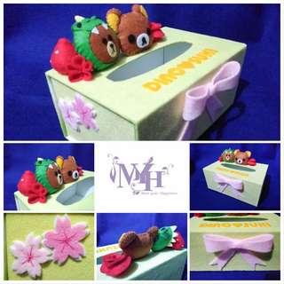 Handmade 不織布卡通紙巾盒 (Stock# : MYH501)