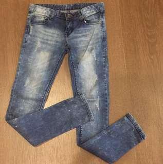 Authentic Japanese Skinny Denim Jeans