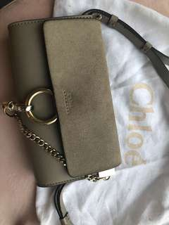 Chloe Faye Mini Bag - stone AUTHENTIC