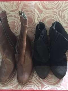 Buy 1 take 1 branded boots Benetton & Nine West