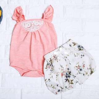 🚚 Instock - 2 Piece Sweet Floral Set