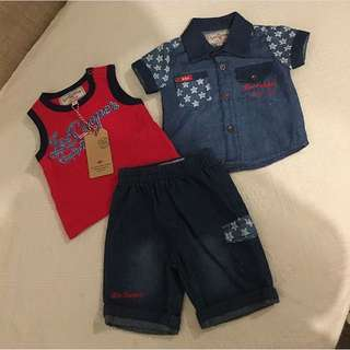 LEE Cooper New with tags Set from London 3-6m