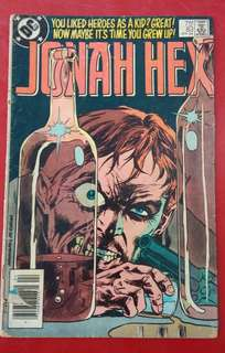 DC comic JONAH HEX