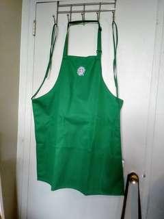 *NEW* Iconic Starbucks barista apron coffee