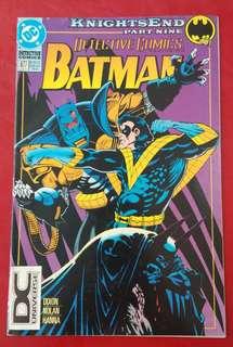 DC comic BATMAN
