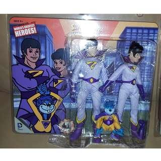 全新 DC comics Super Heroes Wonder Twin Justic League 正義聯盟 Retro action figure Limited
