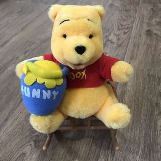 Winnie the pooh 搖搖椅擺設