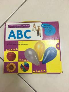 ABC My First Learning Card Series