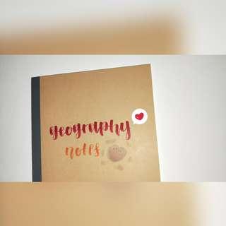 HandMade Customise Muji NoteBook