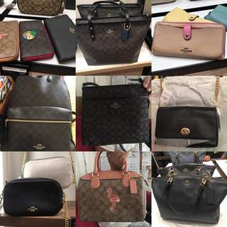 COACH BAGS ORIGINAL FROM PARIS