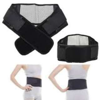 Tourmaline Magnetic Therapy Self Heating Lower Back Waist Support Brand New