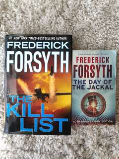 Frederick Forsyth • The kill list/ The day of the Jackal