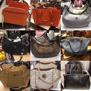 COACH MK BAGS ORIGINAL FRESH FROM PARIS