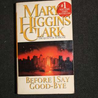 Preloved Books by Mary Higgins Clark