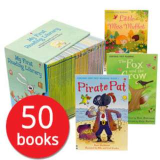 50 Usborne My First Reading Library Set - Brand New