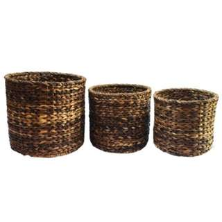 Set of 3 Round Planter