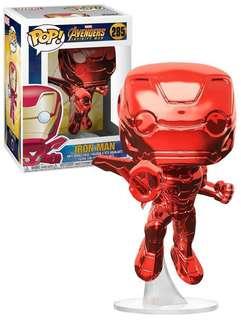 Pop! Funko Red Chrome Iron Man
