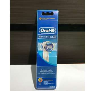Oral-B Precision Clean Brush Heads ( Refill 2 )